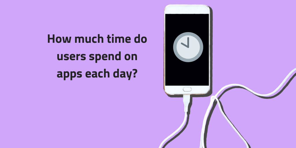 Phone-with-clock-on-purple-background